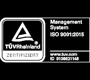 Zertifiziertes QM Syste nach ISO 9001:2008